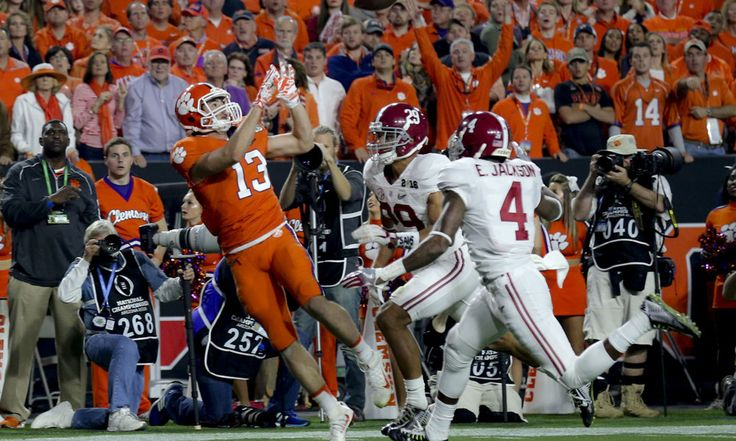 Hunter Renfrow Shows Walk-On Athletes Can Shine = Alabama featured the Heisman Trophy winner Derrick Henry and Clemson fielded a Heisman Trophy finalist in Deshaun Watson. The combined rosters have 19 projected NFL draft picks. Others that will sign as free agents will push the total to over a couple dozen. There may be a half-dozen.....