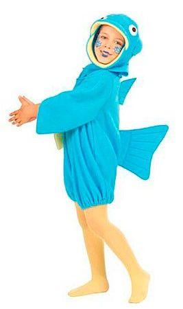 #Disfraz de Pez Azul infantil. #kids #costume