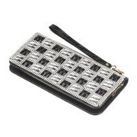 Show details for Checker Glass Wallet. #onlineshopping #online #shopping #shoponline #shopnow #sale #freeshipping  #accessories #bag #purse #wallet #glass #style #design #onlinestore