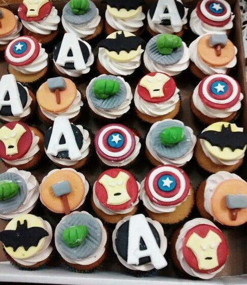 Cupcakes avengers