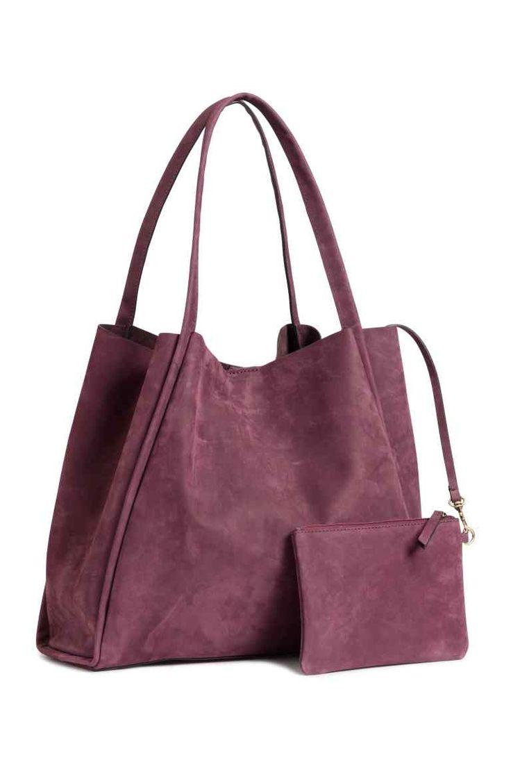 Torba shopper z nubuku | H&M