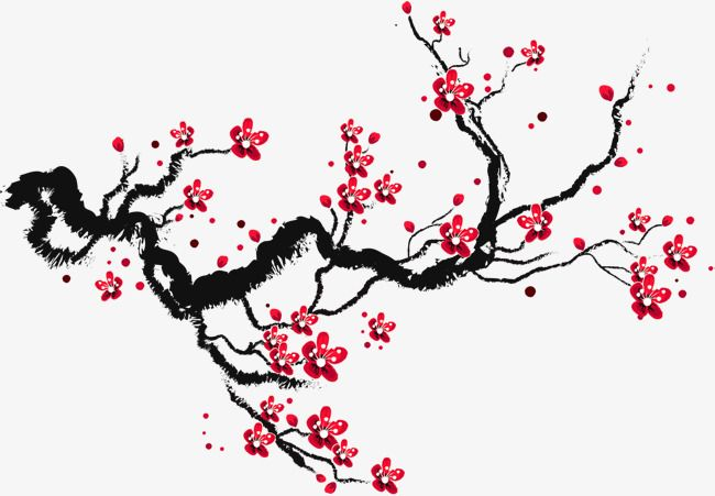 Ink Cherry Blossoms Decoration Pattern Branches Png Transparent Clipart Image And Psd File For Free Download Cherry Blossom Drawing Cherry Blossom Art Cherry Blossom Tattoo