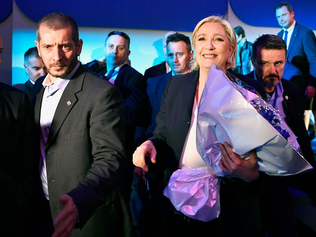 French Presidential Candidates Get Increased Security Detail, 'Tactical Umbrellas', Ahead of Election Day