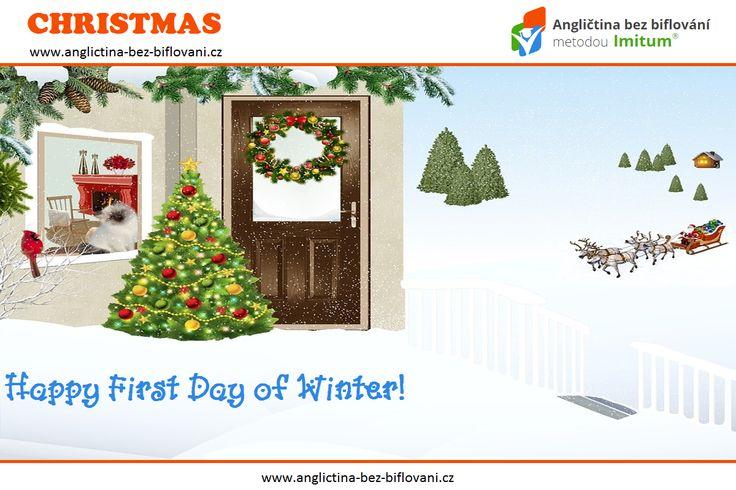V letošním roce připadá zimní slunovrat na 21. prosince. Přesně v 11:45 nám začala astronomická zima. Noc na čtvrtek 22. prosince tak bude nejdelší v roce. ❄ 🌃 🌙 #winter #solstice #anglictina