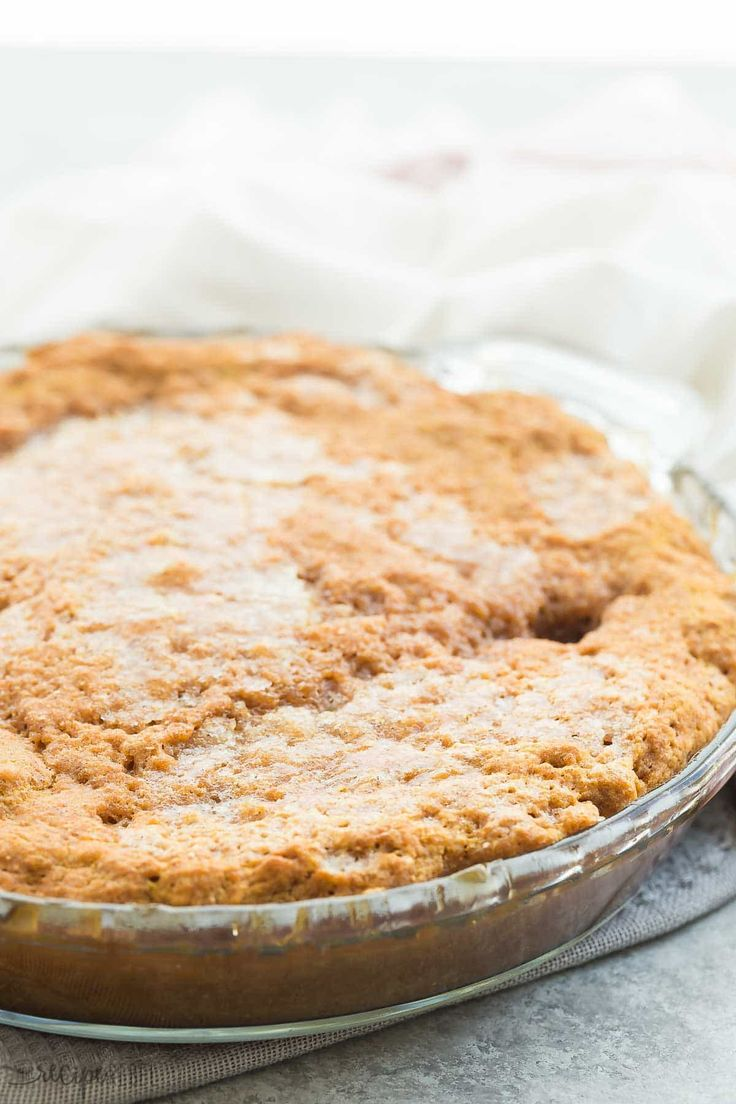 This Easy Pumpkin Pudding Cake takes just 10 minutes prep and makes it's own caramel pudding sauce as it bakes! Perfect hot from the oven with a scoop of ice cream.   pumpkin dessert   easy dessert   baking   Thanksgiving dessert   lava cake   caramel sauce