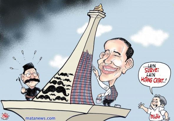 Karikatur 120712 - Jokowi vs Foke