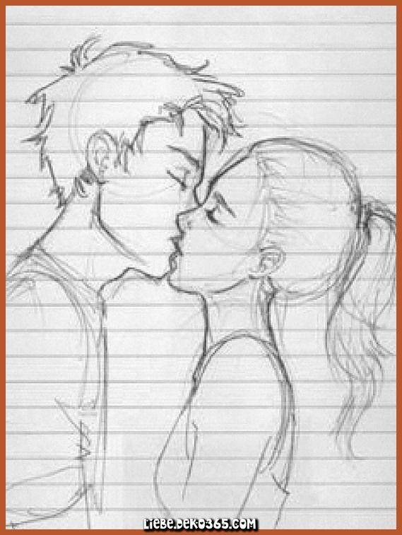 Liebe Ist Eine Grossartige Sache Zeichnungen Von Paaren Kussen Menschliches Zeichnen Liebe Deko365 Zeichnungen Von Paaren Kusszeichnung Niedliche Skizzen