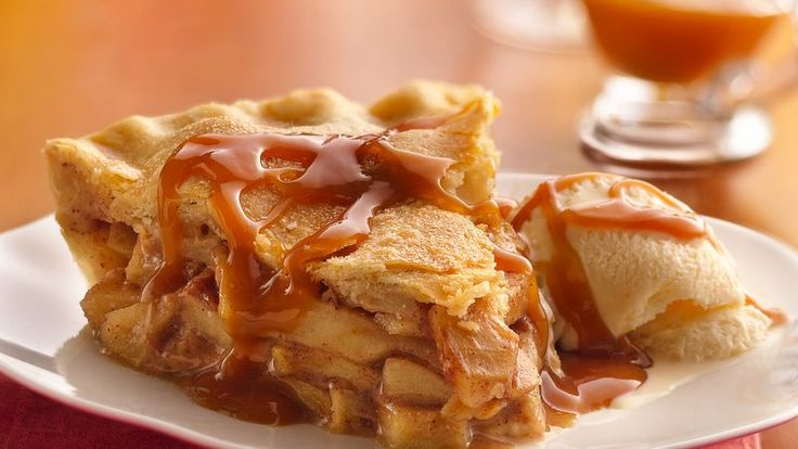 Looking for a fruit dessert made using Pillsbury® refrigerated pie crust? Then check out this delicious caramel-apple pie recipe.