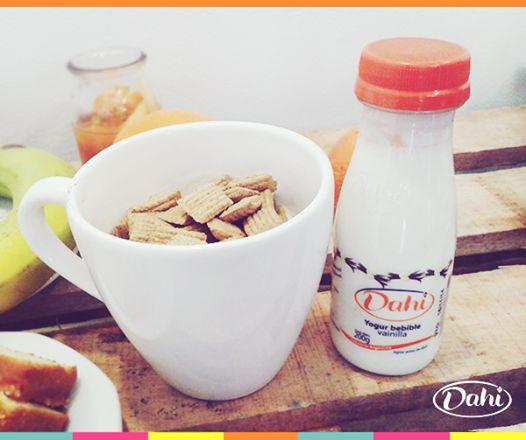 ¡Agregale Yogur Dahi bebible a tus cereales de todas las mañanas y disfrutá del desayuno más rico! #Dahi #ElVerdaderoYogur
