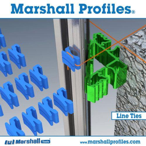 Building Profile Line Ties