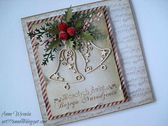 Handmade by  Anna Wysocka: Święta w stylu vintage