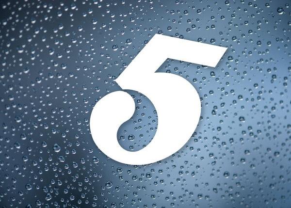 Five Water by Husk Design, via Behance