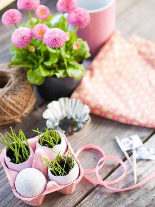 Racconti per immagini :: La tavola pasquale in rosa