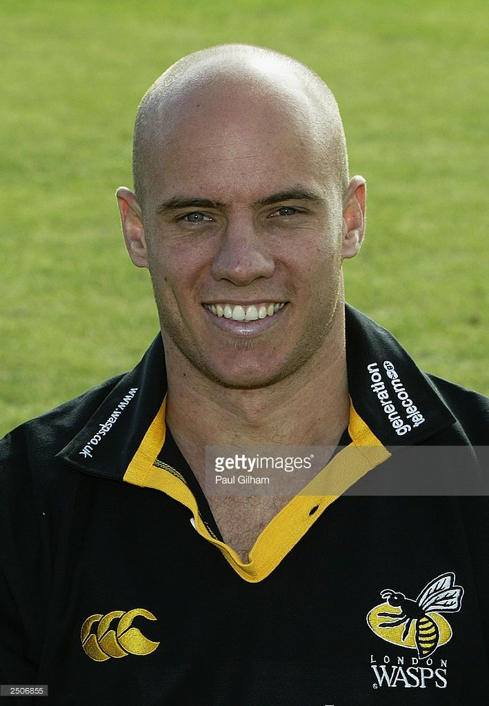 A portrait of Harvey Biljon of Wasps during the London Wasps Squad photocall on September 1, 2003 in Acton, London, England.