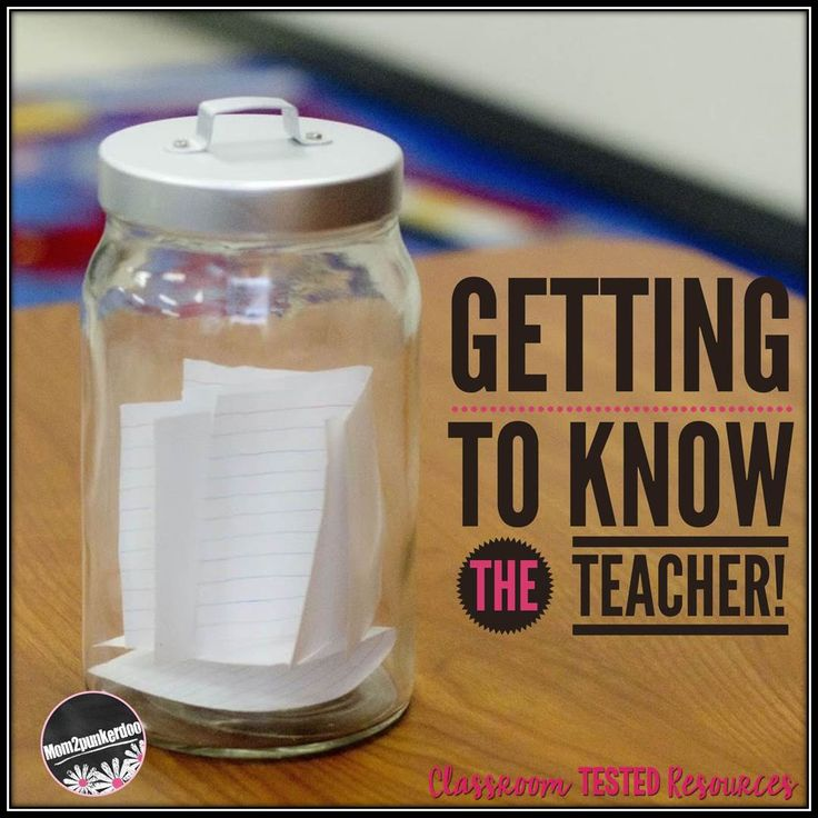 Classroom Tested Resources: Getting To Know The Teacher --- FREEBIE