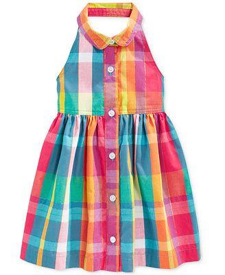 Penelope Mack Baby Girls' Plaid Dress