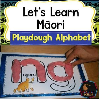 Te Reo Maori playdough alphabet mats. Great activity for junior immersion or mainstream classes. Tamariki practice their letters with these playdough mats. Each letter also has arrows which shows the correct formation of the letter