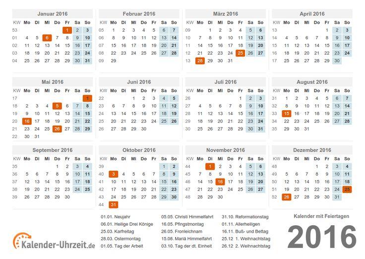 37 best kalender 2016 zum ausdrucken images on pinterest. Black Bedroom Furniture Sets. Home Design Ideas