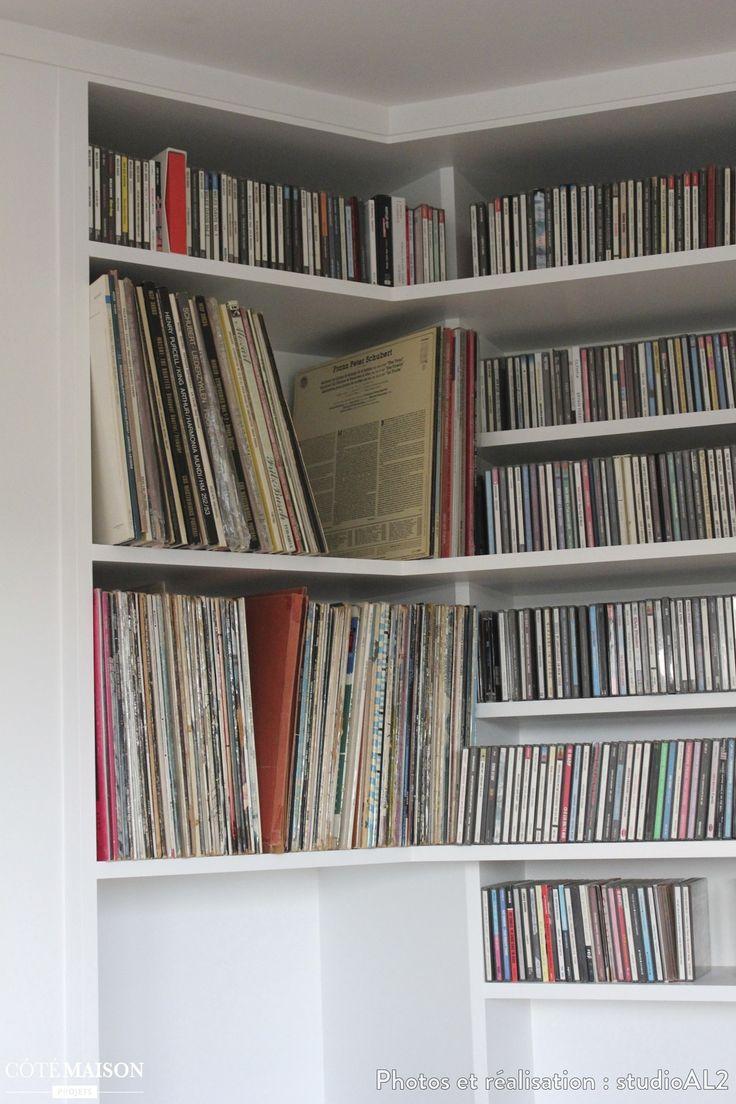 Plus de 1000 id es propos de biblioth que bookcase for Construire une bibliotheque murale