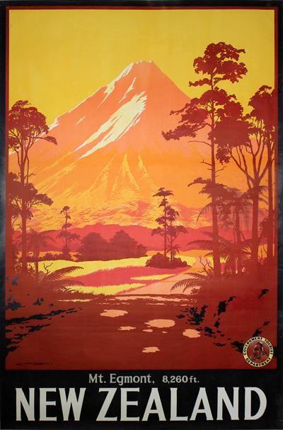 New Zealand - Mt. Egmont