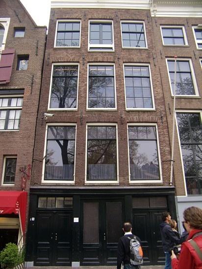 Amsterdam. Anne Frank House