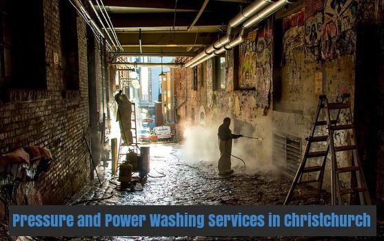 AM Commercial Cleaning provides highly trained and educated professionals for pressure and power washing services for your residential and Commercial property in Christchurch. http://bit.ly/2fZta30
