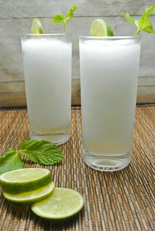 This Frozen Mojito is fun, festive, frothy, and refreshing