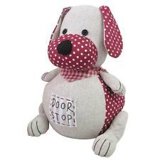 cloth door stopper | ... Fabric Dog Door Stop Cute Novelty 850g Weighted Animal Stopper Wedge