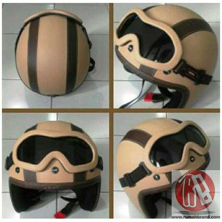Helm Classic Standart (HC-22) @Rp. 170.000,-   http://rumahbrand.com/helm-kustom/861-helm-classic-standart.html