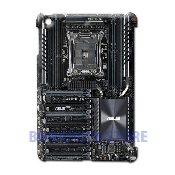 Ipad 2 / Ipad Mini 2 Back Case X99-E WS Customize Design Gaming Board Circuit #Generic