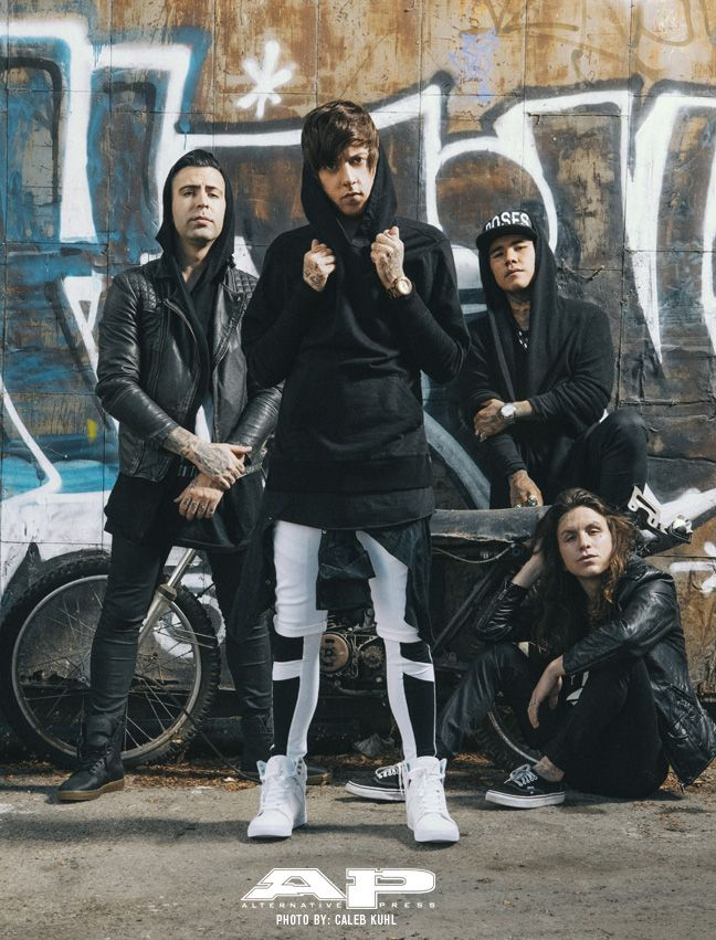 I don't know who this band is but I want those white and black pants.