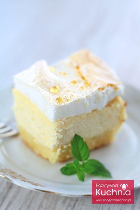 Klasyczny, piękny #sernik rosa czyli sernik z rosą, na kruchym spodzie  http://pozytywnakuchnia.pl/sernik-z-rosa/  #ciasto #przepis #kuchnia