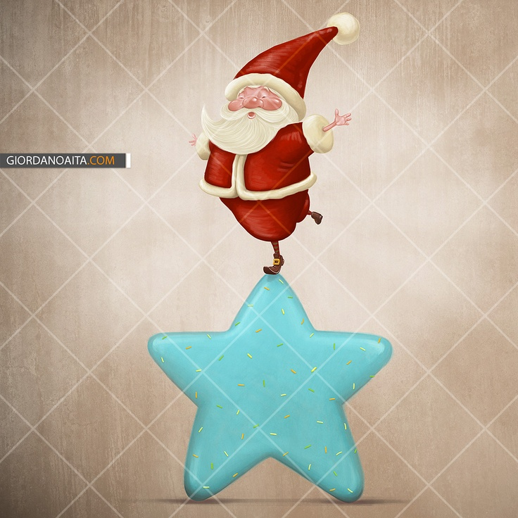 Santa Claus equilibrist - © Giordano Aita - All right reserved     http://it.fotolia.com/p/120313/partner/120313