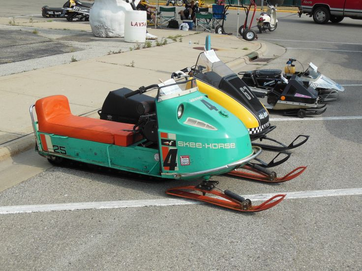 17 best images about vintage snowmobiles on pinterest for Vintage sleds