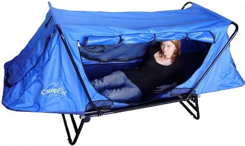 Campezi Camp Cot Stretcher Bed Tent Camping