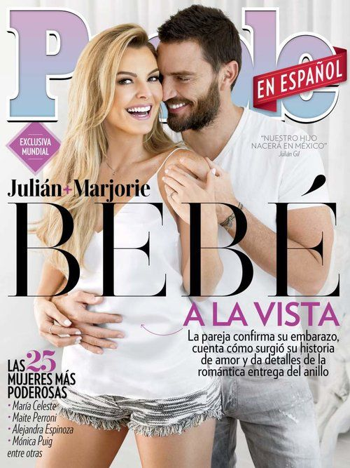 Marjorie de Sousa on the cover of people en espanol | art dept. clothing