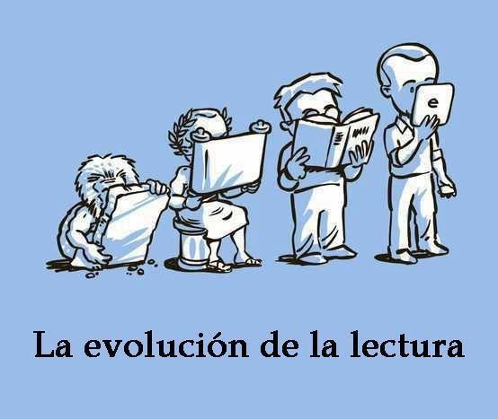 La evolució de la lectura