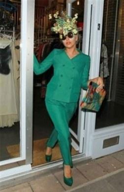 Lady Gaga by Moschino