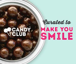 CandyClub is a candy of the month subscription box delivering hard to find, delicious, and nostalgic candy to your door each month.