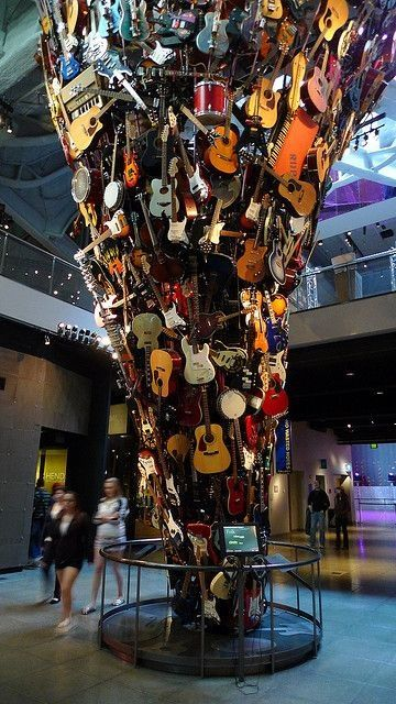 Got to see this at the EMP museum in Seattle while on vacation.