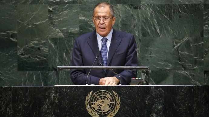 """Pardon Us For Our Country's Existence in the Middle of Your Military Bases"" – Russian Foreign Minister Lavrov's Speech at the UN  By Carla Stea Global Research, October 14, 2014 Region: Russia and FSU Theme: United Nations, US NATO War Agenda In-depth Report: UKRAINE REPORT"