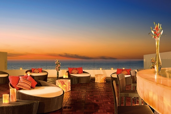 We love the open air lounge at Now Amber Puerto Vallarta! #UnlimitedRomance