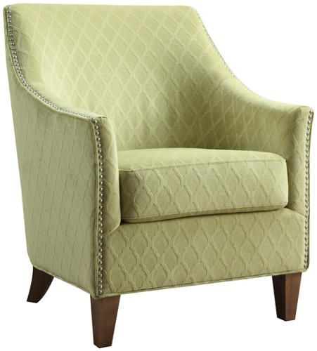 Kismet Green Accent Chair - Art Van Furniture