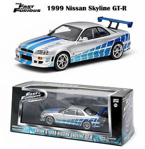 greenlight fast furious brians 1999 nissan skyline gtr paul walker 143 86208 - Categoria: Avisos Clasificados Gratis  Item Condition: New Greenlight Fast & Furious Brian's 1999 Nissan Skyline GTR Paul Walker 1:43 86208Price: US 19.22See Details