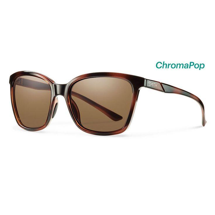 Smith Sunglasses Colette Tortoise ChromaPop Polarized Brown