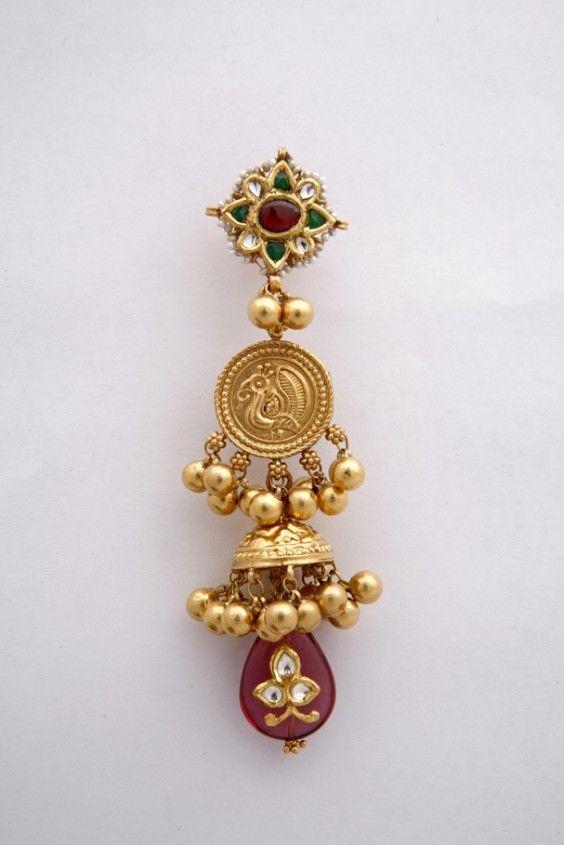 Gold Jhumkas Collection from Tibarumals
