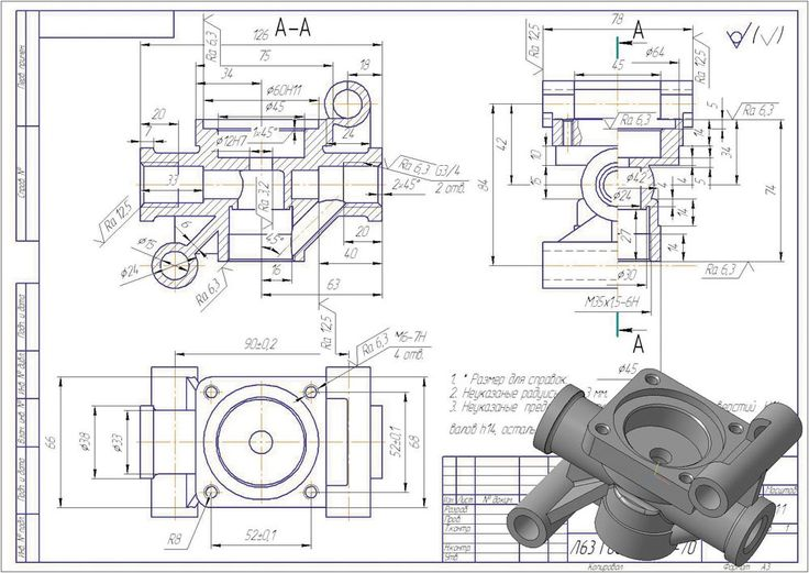 288 best mechanical drawings blueprints cad drawings images on 000011965524g 1000 708 pixels malvernweather Choice Image