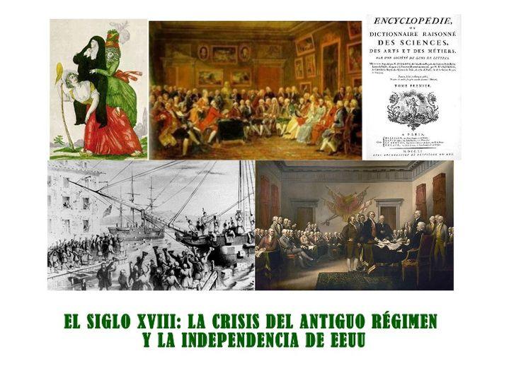 El Antiguo Régimen, la Ilustración, el Despotismo Ilustrado y la Independencia de EEUU (para 4º ESO)
