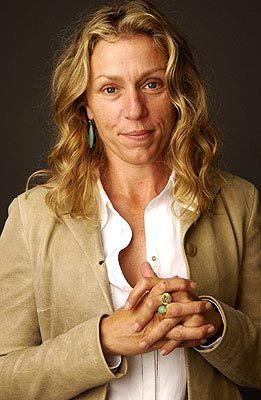 Frances McDormand    Born:  June 23, 1957     Adopted By: Noreen E. and Vernon W. McDormand of Chicago, Illinois. The future actress was adopted by a registered nurse and a Disciples of Chris pastor, who also adopted McDormand's two biological siblings.