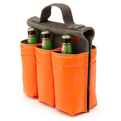 The perfect pairing for any bike ride/picnic outing, an easy way to carry the beer!